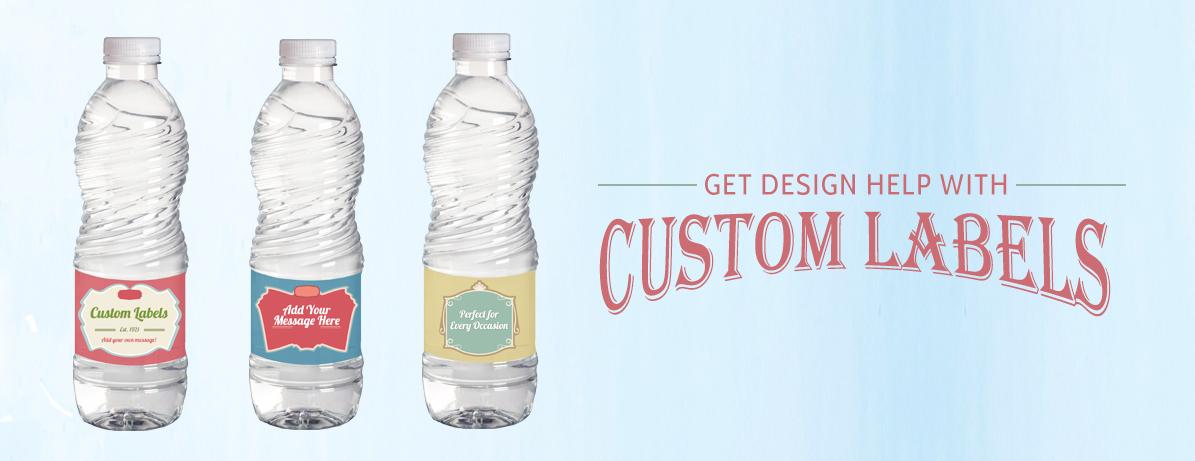 Custom Label with Design Help