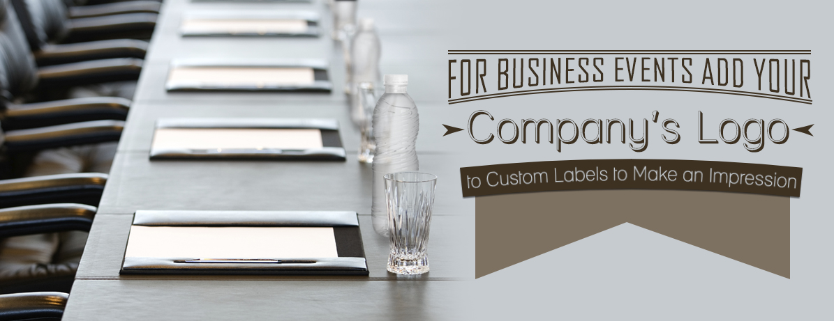 For Business Events Use Company Logo