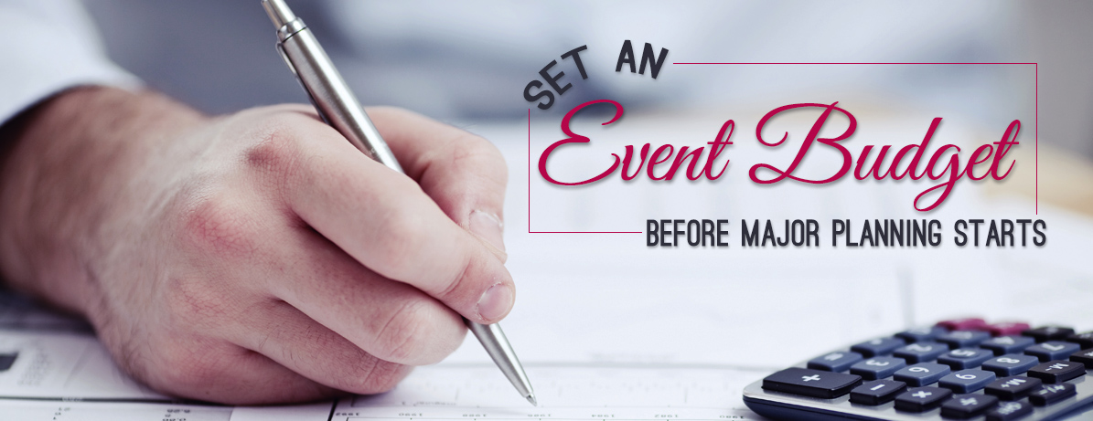 Set an Event Budget