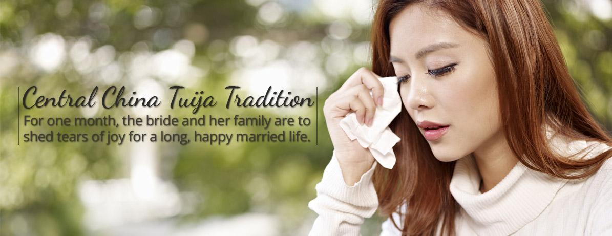 Central China Tuija Wedding Tradition
