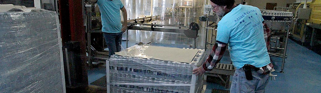 Azure Water is doing everything possible to ship water to Fliint, Michigan and help the people in need.