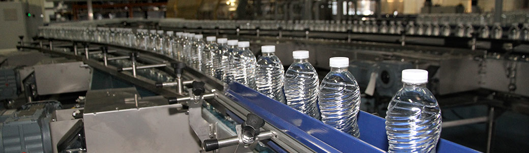 We produce a lot of water that is good for you in beautiful bottles!
